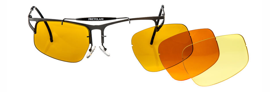 f700938f16 Glasses in TITANIUM entirely made in Italy